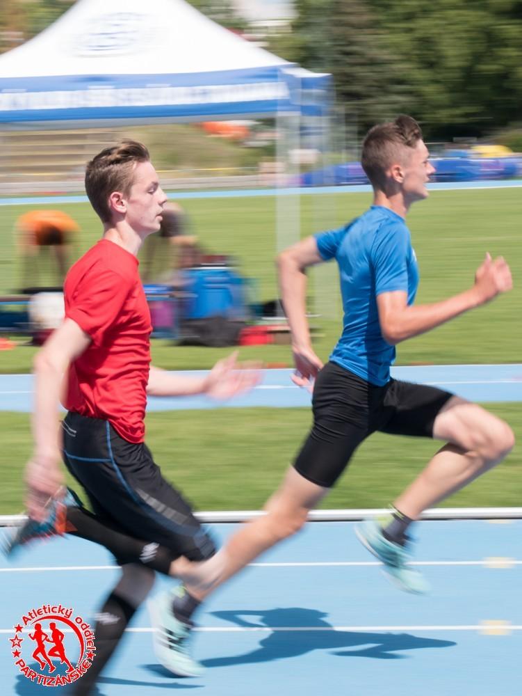 Jakub Michalík, 200 m
