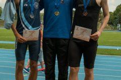 Jakub Nemec majstrom ZsAZ v behu na 100 m
